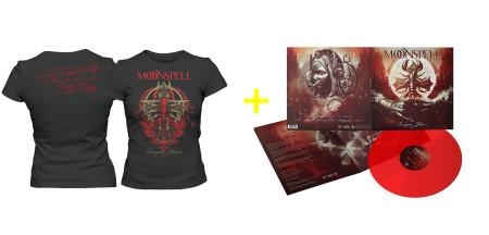 - Scorpion Flower Bundle Girlie (Tshirt + LP)