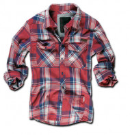 Check Shirt Red