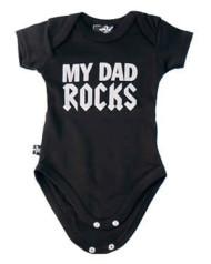 Dad Rocks Baby Gro
