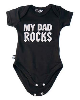 - Dad Rocks Baby Gro