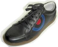 Steelground Snickers Black leather