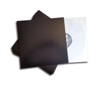 - LP cover black deluxe
