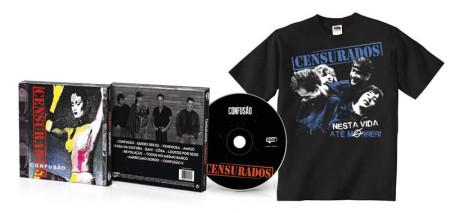 - Confusão (CD + Tshirt Preta)