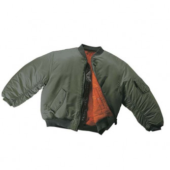 - Flight Jacket - Olive