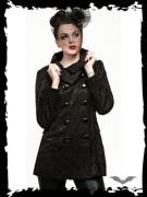 Black Damask Style Coat