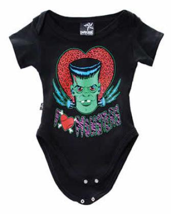 - I Love Monsters Baby Gro