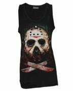 Jason Black Cotton Vest