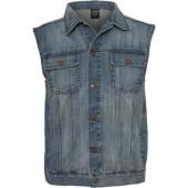 Jeans Vest - Lightblue