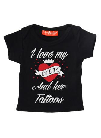 - I Love Mum And Her Tattoos T-Shirt