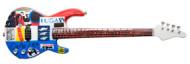 "Red Hot Chili Peppers - M. ""Flea"" Balzary: ""Punk-Rock"" sticker bass style."