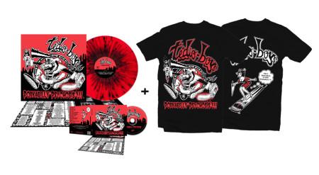 - Porkabilly Psychosis - Super Bundle 3 (2 Tshirts + CD + LP)