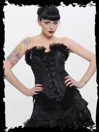 - Black Corset with Lace