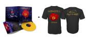 Opium Black Tshirt + Opium Yellow Vinyl