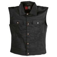 Jeans Vest Black