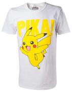 Pokémon - pikachu t-shirt with raised print
