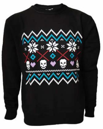 - Fairisle Black Sweatshirt