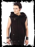 Vest with hidden Hood