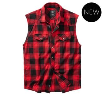 - Checkshirt sleeveless (Red)