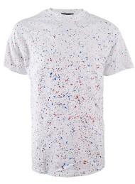 Paint Splatter Mens T Shirt
