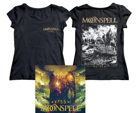 - 1755 Tremor Dei Girlie Tshirt + CD