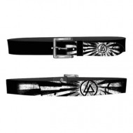 Linkin Park Black Belt w/ White Printing
