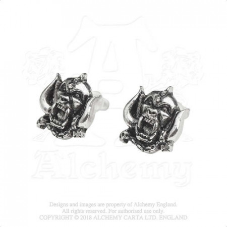 Motorhead Stud Earrings