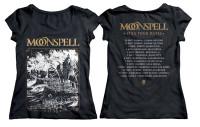 1755 Tremor Dei Tour Dates Girlie Tshirt