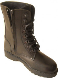 Steelground  Zip military boot
