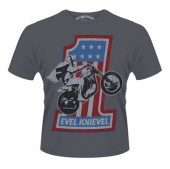 Evel Knievel - American Flag TS