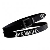 Jack Daniels Black | Brown Leather belt