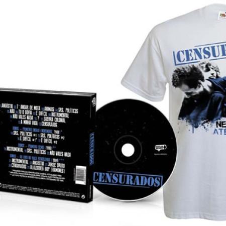 Censurados (CD + Tshirt Branca)