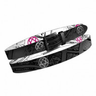 HIM Reversable Belt Black/White