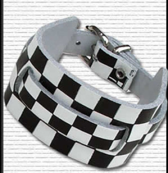 - 1 Row Watch Strap Chequered