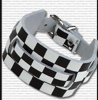- 1 Row Watch Strap Chequered