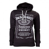 Jack Daniels - Female Hoodie, Black, Logo