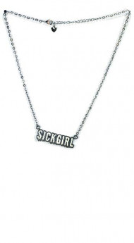 White Sickgirl Necklace