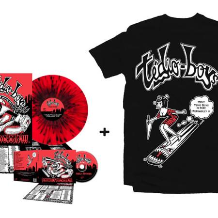 Porkabilly Psychosis - Super Bundle 2 (Tshirt + CD + LP)