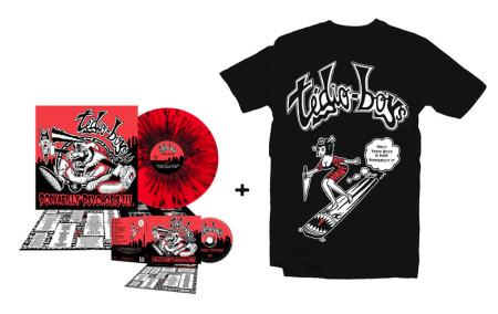 - Porkabilly Psychosis - Super Bundle 2 (Tshirt + CD + LP)