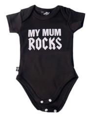 Mum Rocks Baby Gro