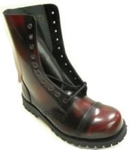 Steelground Steel 10 eye boot