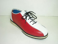 Steelground Bowling shoe blue/white/red leather