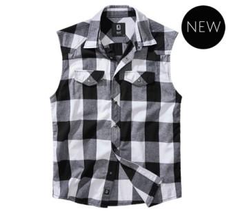 - Checkshirt sleeveless (White)