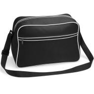 Retro shoulder bag (Black)