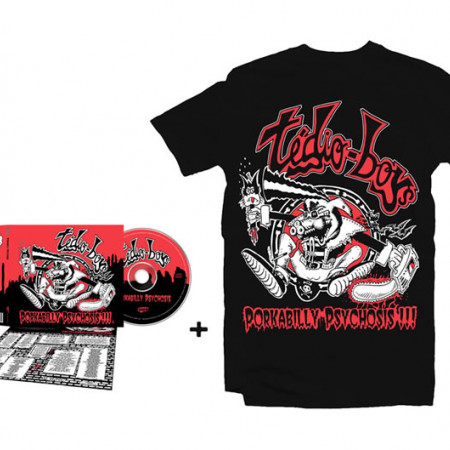 Porkabilly Psychosis CD + Tshirt