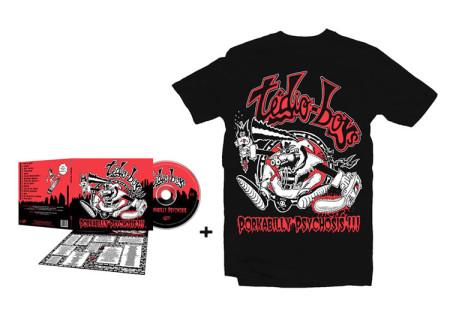 - Porkabilly Psychosis CD + Tshirt