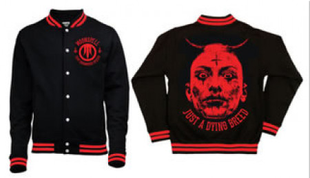 - Just a Dying Breed Varsity Jacket