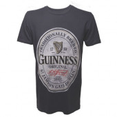 Guinness - Grey, Mens T-shirt