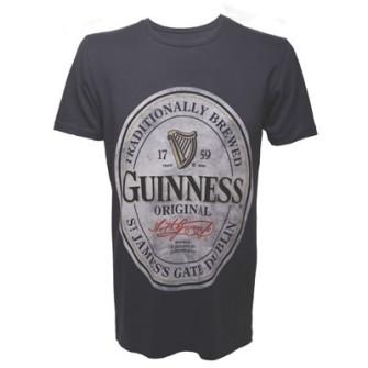 - Guinness - Grey, Mens T-shirt