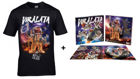 - Rota de Colisão CD + Tshirt