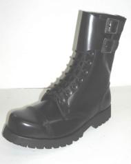 10 w/2 Buckles black leathe